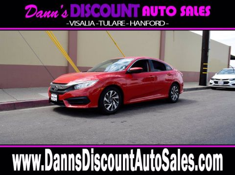 2016 Honda Civic EX FWD 4D Sedan