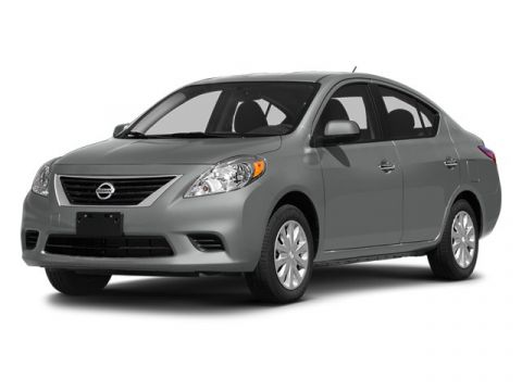 2014 Nissan Versa 1.6 S Plus FWD 4D Sedan